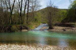 Кривенковское река Туапсе