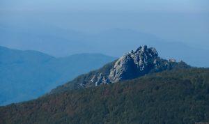 Гора Индюк - вид с горы Семиглавая