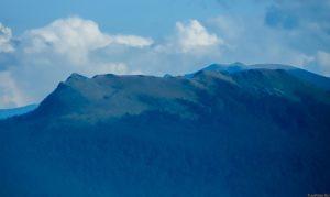 Гора Семиглавая - вид с горы Семашхо