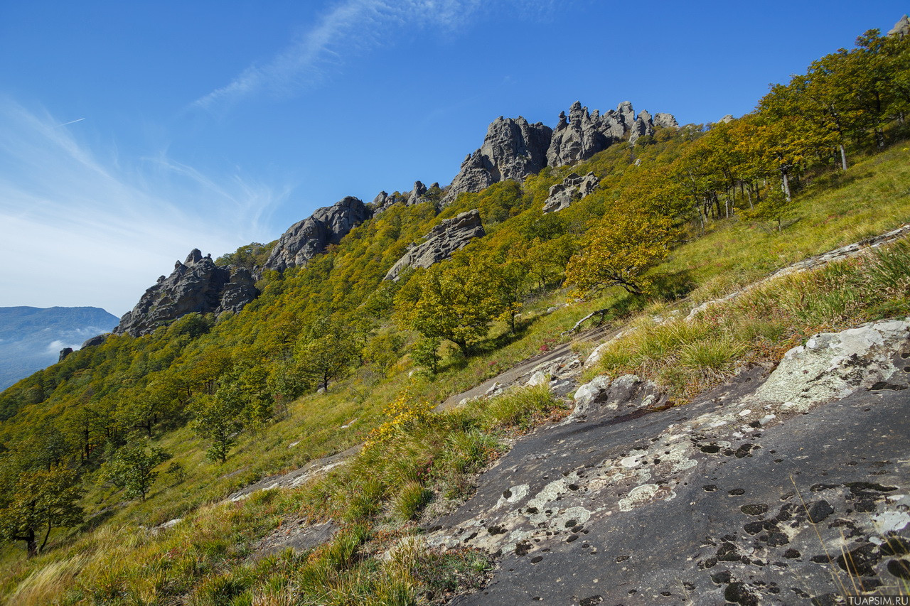 Гора Индюк Туапсе Краснодарский край