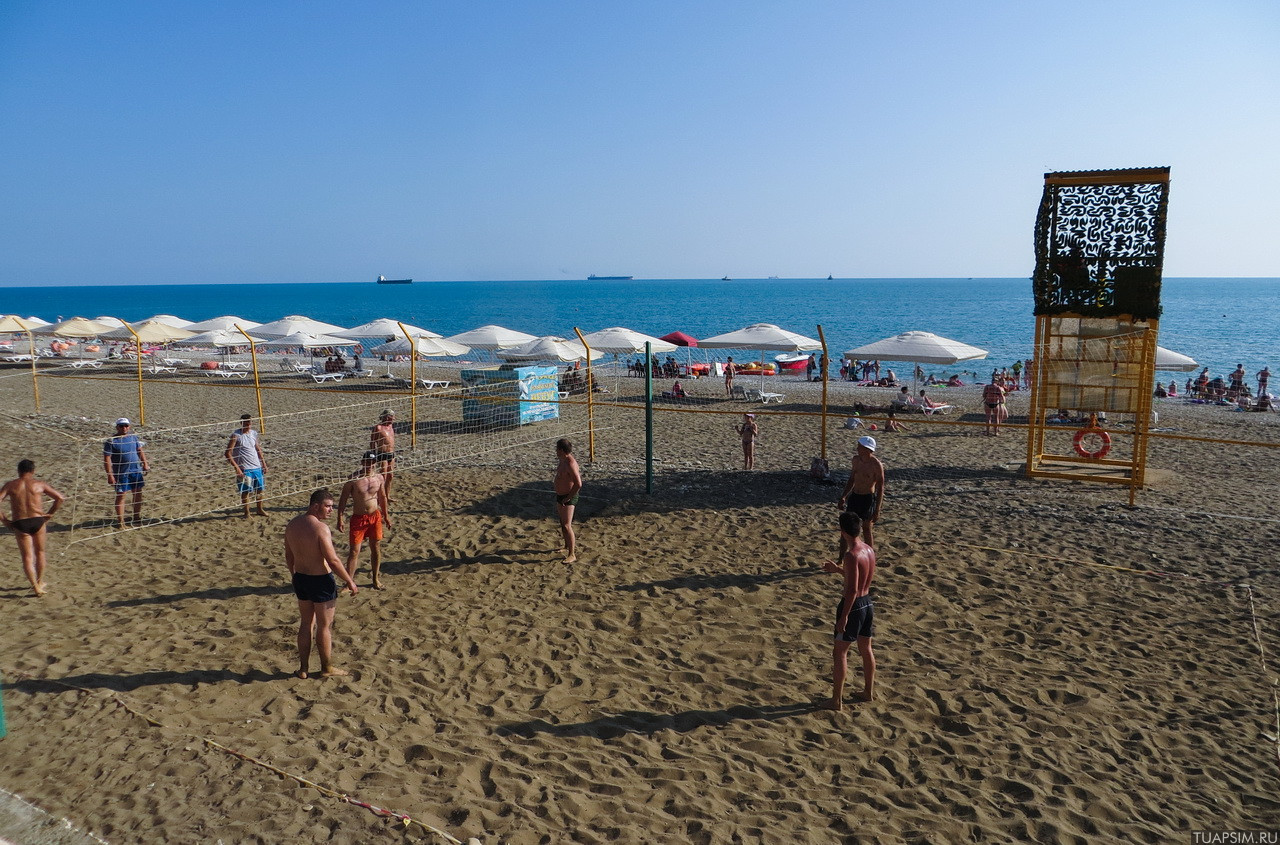 Туапсе Центральный пляж