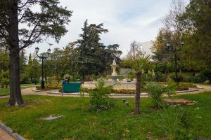 Туапсе Центральный городской парк